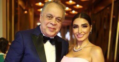 """روجينا تحتفل بعيد ميلاد أشرف زكى بأغنية """"هليلة"""" للديفا سميرة سعيد.. فيديو"""