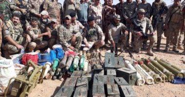 القوات الأمنية العراقية تعثر  على سلاح لتنظيم داعش جنوب القائم