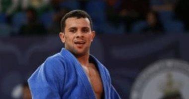 محمد عبد الموجود يحرز برونزية الجائزة الكبرى للجودو بالفوز على منافسه الإسرائيلى