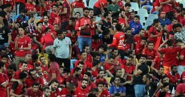صور.. بدء توافد جماهير الأهلى على ملعب برج العرب