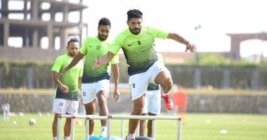 صور .. 20 لاعبا فى قائمة المقاصة استعدادا لمباراة أسوان فى افتتاح الدوري