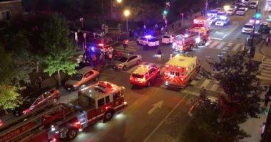 فيديو وصور.. مقتل شخص وإصابة 5 فى إطلاق نار عشوائى بواشنطن