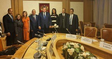 تفاصيل زيارة وفد برلمانى مصرى برئاسة كريم درويش لروسيا