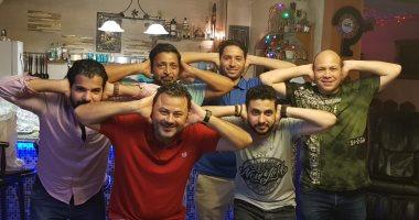 بعد فوز الأهلى.. حميد الشاعرى يحتفل على طريقة مؤمن زكريا