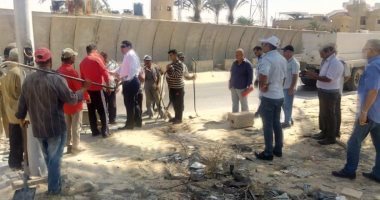 صور.. شمال سيناء تنظم حملات يومية لرفع القمامة والمخلفات من الطرق