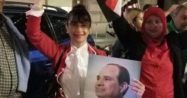 فيديو.. المصريون يحتشدون لاستقبال الرئيس السيسى فى نيويورك
