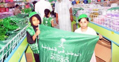 مناسبة اليوم الوطنى تنعش حركة الأسواق فى جازان السعودية
