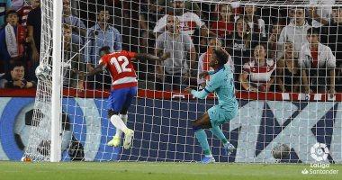 غرناطة ضد برشلونة.. البارسا يتلقى الهدف الأول فى الدقيقة الثانية.. فيديو