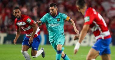 ملخص وأهداف مباراة غرناطة ضد برشلونة فى الدوري الإسباني