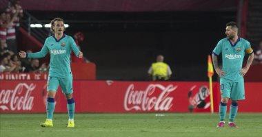 برشلونة يحقق 5 أرقام سلبية بعد سقوطه أمام غرناطة بالدوري الإسباني