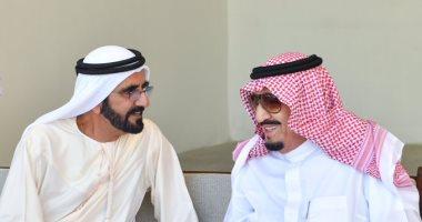 محمد بن راشد يهنئ الملك سلمان باليوم الوطنى الـ 89 للسعودية