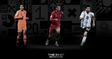 الثلاثي المرشح للفوز بجائزة أفضل لاعب في العالم 2019