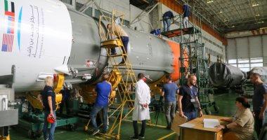 """الإمارات تستعد لإطلاق الصاروخ""""سويوز أف جي"""" فى رحلة تاريخية الأربعاء"""