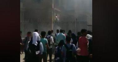 طفل وراء إشعال النيران بعقار فى مدينة 6 أكتوبر