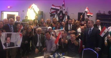 الجالية المصرية بالولايات المتحدة الامريكية