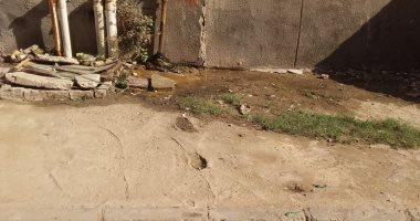 كسر ماسورة مياه بالنهضة فى حى السلام ثان والأهالى يناشدون لإصلاحها