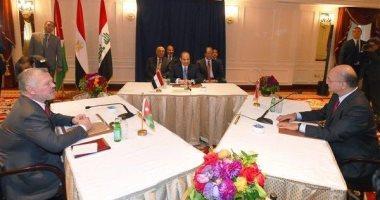 """الرئيس العراقى: القمة """"المصرية الأردنية العراقية"""" رسالة لوحدة الموقف بالمنطقة"""