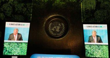 الأمين العام للأمم المتحدة: تغير المناخ سباق يمكن أن نفوز فيه