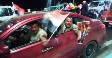 صور لمسيرات ضخمة فى السويس خرجت لتأييد الرئيس السيسى