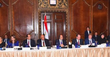 السيسى لغرفة التجارة الأمريكية: نتطلع لمزيد من مساهمة الشركات الأمريكية فى عملية التنمية بمصر
