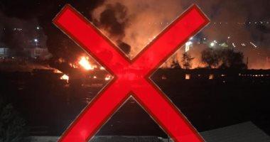 """""""السكة الحديد"""" تفضح الإخوان: حريق المنيا فى مخلفات وخردة ولا علاقة له بالقطارات"""