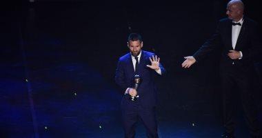 جوائز The Best.. ميسي يعلق على الفوز بجائزة أفضل لاعب فى العالم