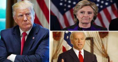 هيلارى كلينتون تكشف تفاصيل مشادة ترامب وبايدن وموقف انتخابات الرئاسة الأمريكية