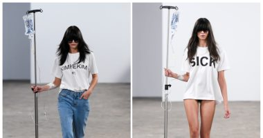 عرض أزياء بالمحاليل فى أول عروض أسبوع الموضة بباريس لربيع وصيف 2020