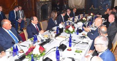 السيسي من نيويورك: مصر أصبحت نقطة الانطلاق للسوق الأفريقية