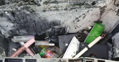 العلبة دى فيها ايه.. انفجار سقف سيارة بأمريكا بسبب عبوة شامبو.. اعرف التفاصيل