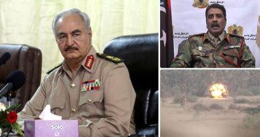 الرئاسة الفرنسية: حفتر ملتزم بتوقيع اتفاق وقف إطلاق نار فى ليبيا