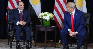 ترامب: مصر لديها مكانة خاصة لدينا.. وزوجتى انبهرت بالأهرامات برفقة سيدة مصر الأولى
