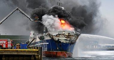 مركز الملاحة البريطانى: تعرض سفينة لاعتداء قبالة سواحل اليمن الجنوبية