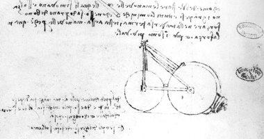 العثور على تصميمات لـ ليوناردو دا فينشى تؤكد اختراعه للدراجة .. اعرف الحكاية