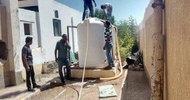 مياه البحر الأحمر تطهر خزانات المدارس والمعاهد الأزهرية