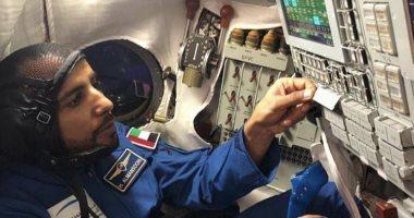 أفضل صورة لمركبة هزاع المنصورى الفضائية تلتقطها رائدة من المحطة الدولية