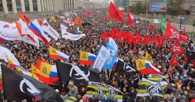 الآلاف يتظاهرون ضد الكرملين فى أقصى شرق روسيا للأسبوع الرابع على التوالى