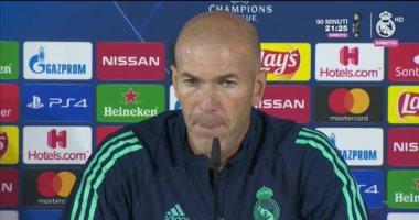 زيدان يدافع عن كورتوا بعد صافرات استهجان جماهير ريال مدريد