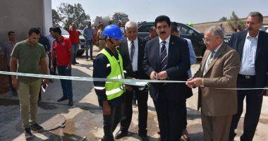 رئيس شركة مياه القليوبية يفتتح محطة بالخانكة بطاقة 12 ألف متر مربع
