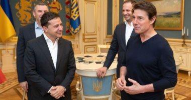 حن لمهنته القديمة.. الرئيس الأوكرانى يطلب مقابلة توم كروز