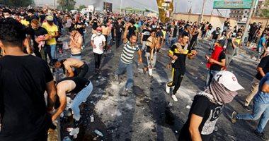 مصادر بميناء: المحتجون يعيدون غلق مدخل ميناء أم قصر العراقى