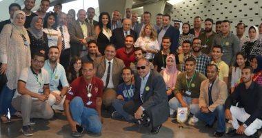 وفد 12 دولة عربية من مكتبة الإسكندرية: مصر أمنة