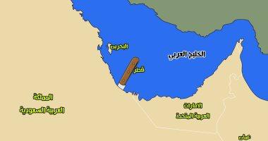 كاريكاتير الصحف السعودية.. قطر خنجر فى ظهر الخليج العربى