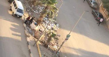 شكوى من انتشار القمامة بمدينة التحرير فى إمبابة