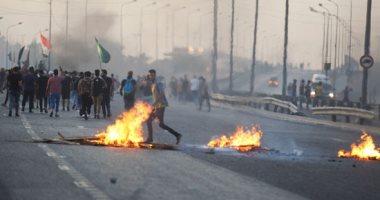 سقوط 4 قتلى خلال تفريق القوات الأمنية لمتظاهرين جنوب العراق