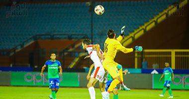 ملخص مباراة الزمالك و مصر المقاصة فى الدوري اليوم السابع