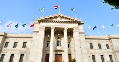 جامعة القاهرة تفوز بالدرع العام فى الملتقى الرياضي الأول للطلاب الوافدين بجامعه القناة