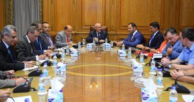 """وزير الإنتاج الحربى يستقبل شركة """" VMZ """" البلغارية"""