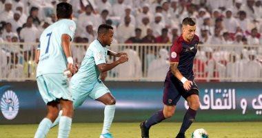 الوحدة يسقط برباعية مثيرة أمام بنى ياس فى الدوري الإماراتى