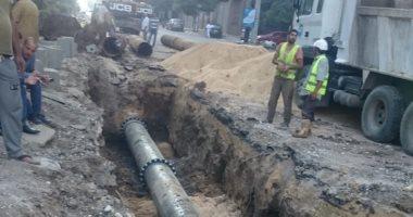 """شركة مياه الدقهلية تستجيب """"لصحافة المواطن بضخ المياه لقرية الشبول"""